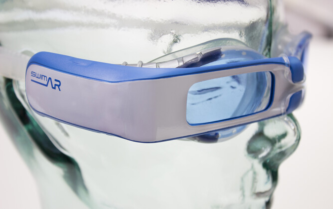 Imagination Factory 'heads up display' goggles - SwimAR